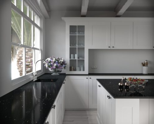 Silestone Kitchn - Stellar Night