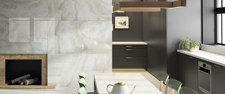 Dekton Kitchen - Fiord - Glacier - xgloss